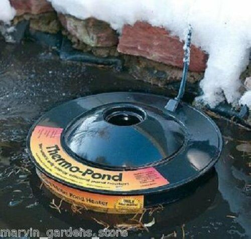 K & H THERMO POND 3.0 FLOATING POND DE ICER 100 WATT KOI POND DE-ICER K & H 8001