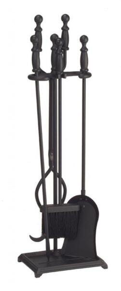 Achla Minuteman Black 4 - Fireplace Tool Set X300460