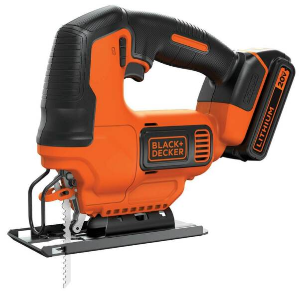 Black and Decker BDCJS20C 20 Volt MAX Cordless Variable Speed Jig Saw Kit