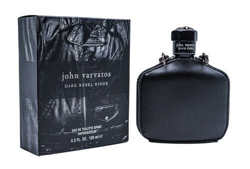 John Varvatos Dark Rebel Rider 4.2 oz EDT Cologne for Men New In Box
