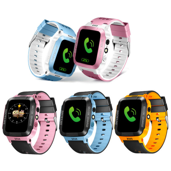 Kids Anti-lost GPS Tracker Smart Watch SOS Call Safe Wristwatch For Android
