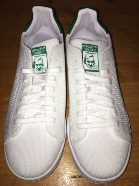 Adidas Originals Stan Smith Womens Classic Shoes Sneakers Green Size 6