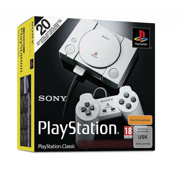 Sony Playstation 1 Classic Konsole 20 Spiele vorinstalliert PS One Playstation