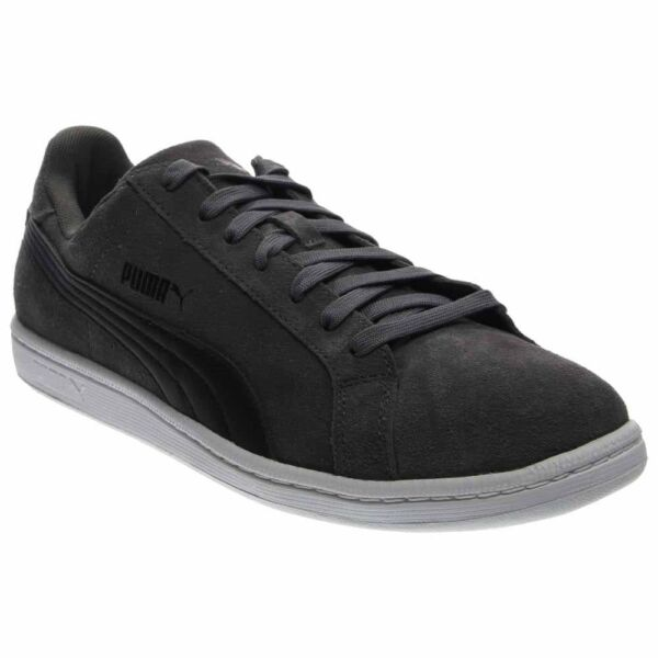 Puma Smash Suede Leather Sneakers - Grey - Mens