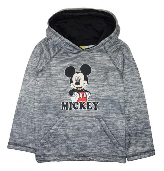 Mickey Mouse Toddler Boys Pull-Over Hoodie Size 2T 3T 4T