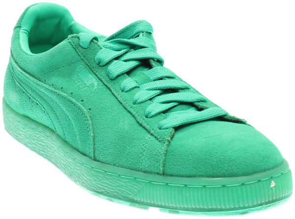 Puma Suede Classic Ice Mix Running Shoes - Green - Mens