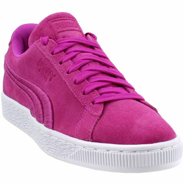 Puma Suede Classic Badge Sneakers - Purple - Mens