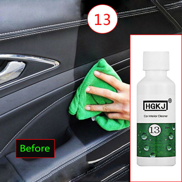 1x Useful 20ml Car Care Interior Leather sofa Polish Wax Panel Dashboard Cleaner