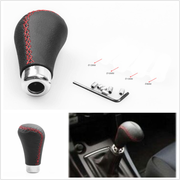 Automotive shift knob shifter for manual vehicle automotive interior parts