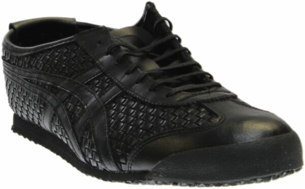 ASICS Mexico 66  Athletic Running  Shoes - Black - Mens