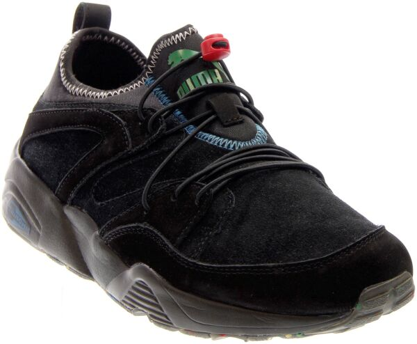 Puma Blaze of Glory Soft Flag Sneakers - Black - Mens