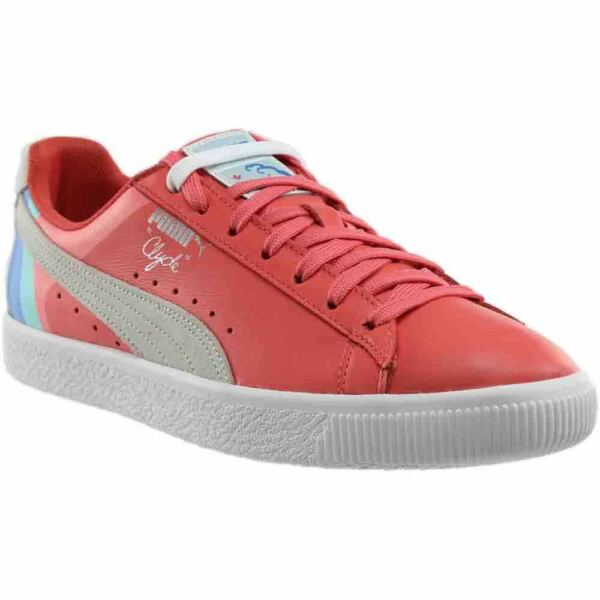 Puma Pink Dolphin Clyde Sneakers - Pink - Mens