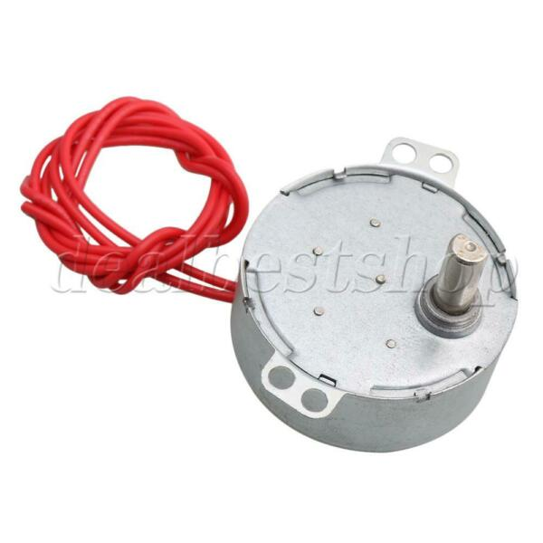 4-5RPM Electric Synchron Motor Turntable Synchronous Motor AC 24V for School