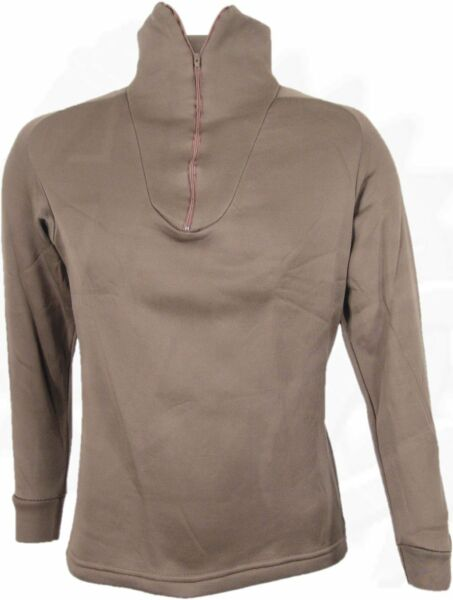 NEW Military Cold Weather Polypro Undershirt XS X Small BROWN $6.59