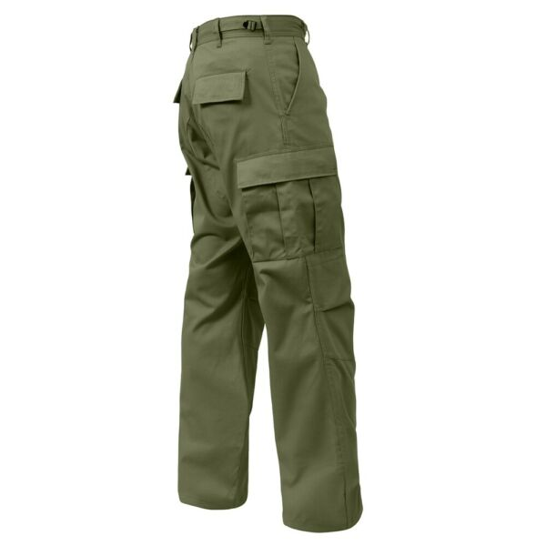 Rothco OD Relaxed Fit Zipper Fly BDU Pants 2926