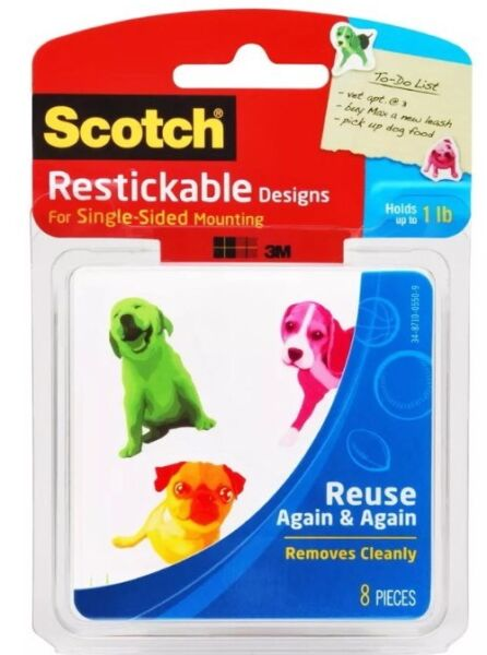 Scotch Restickable Designs Dogs R106 DOGS