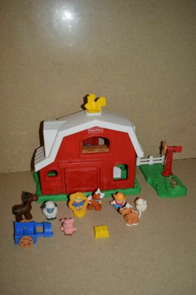 :: FISHER-PRICE LITTLE PEOPLE FARM AND ANIMALS 72791 (Q1)
