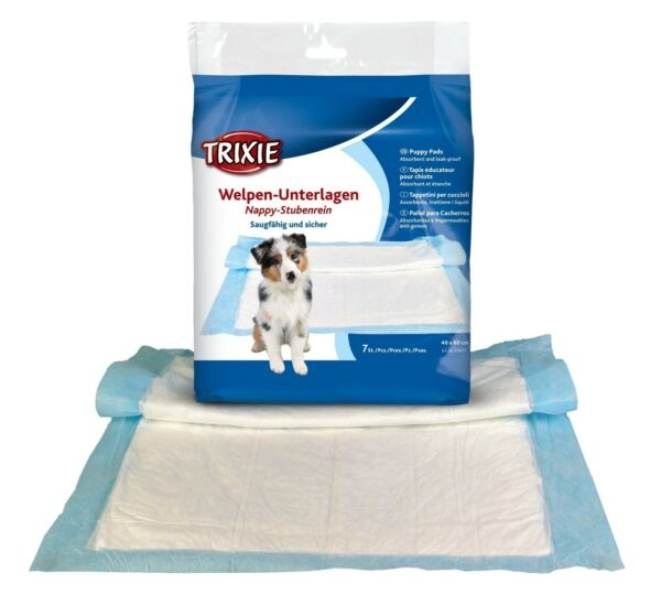Trixie Puppy Training Pads Or For Dog Incontinence All Sizes GBP 9.75