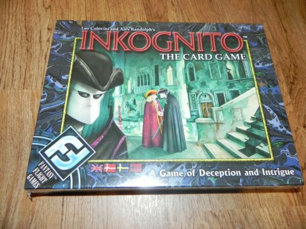 Fantasy Flight Games Inkognito the Card Game New Sealed