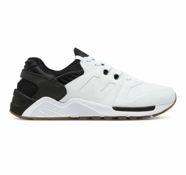 New! Mens New Balance 009 Lifestyle Sneakers Shoes - White Black