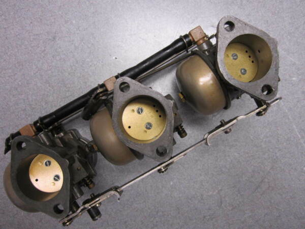 F832061 3 F831061 2 Force 3 Cylinder Outboard Carburetors $249.99
