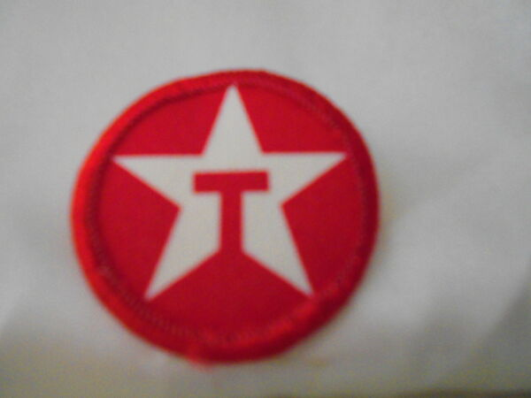 TEXACO GAS STAR USED SILK SCREEN SEW ON NAME PATCH TAG $5.00