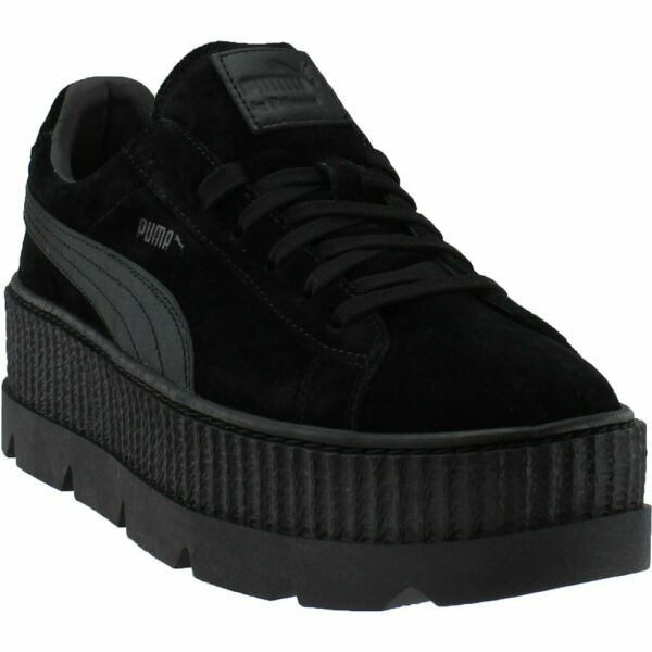 Puma Fenty by Rihanna Suede Cleated Creeper Sneakers - Black - Mens