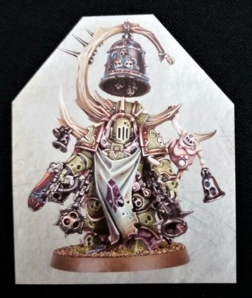 40K Noxious Blightbringer Dark Warhammer Chaos Space Marines Death Guard Marine