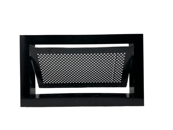 Freedom Flood Vent- FEMA Compliant ICC-ES Certified 250 sq. ft. Coverage- Black