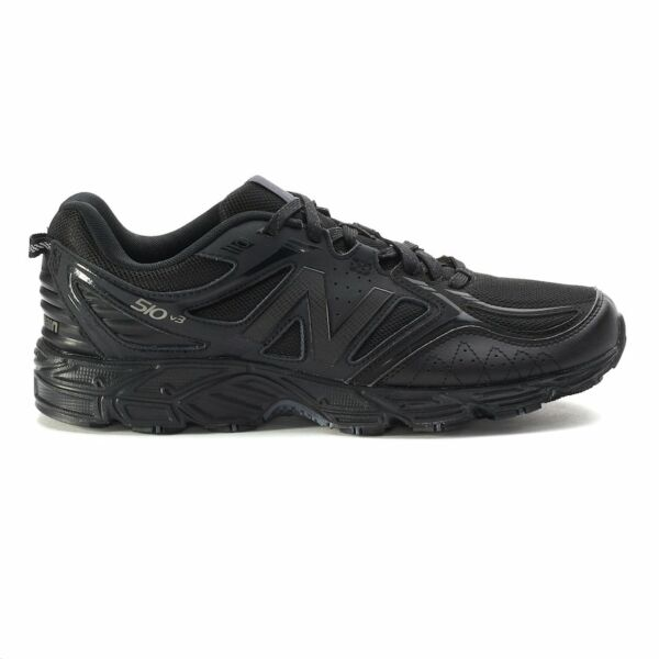 New! Mens New Balance 510 v3 Trail Running Sneakers Shoes 11 Black
