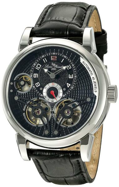 LucieN Piccard LP-15071-01 Cosmos Open Heart  Automatic Black Limited Edition