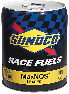 Sunoco MaxNOS 116 Octane Race Fuel 5 Gallon Pail  Speed Tech