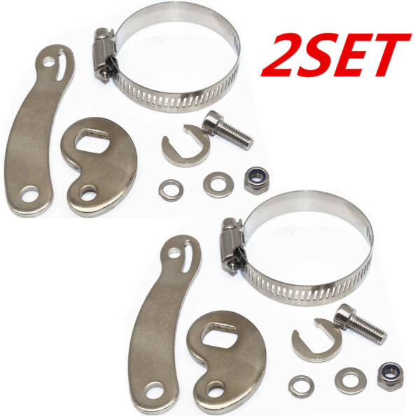 2 Set E-Bike Electric Bicycle Universal Torque Arm For Front Or Rear USA