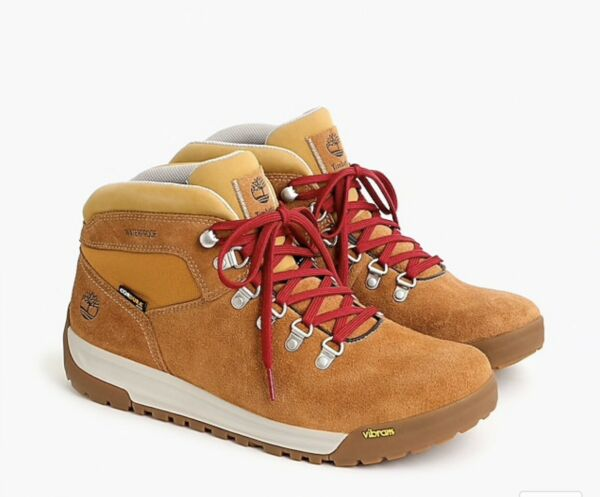 Timberland® for J.Crew GT Scramble hiking boots size 10 tan NWB $110.00