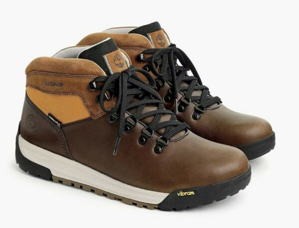 Timberland® for J.Crew GT Scramble hiking boots size 10.5 brown NWB $110.00