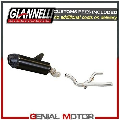 Exhaust Giannelli Black Alumin X-Pro Central Link Pipe Bmw R 1150 Gs 2003