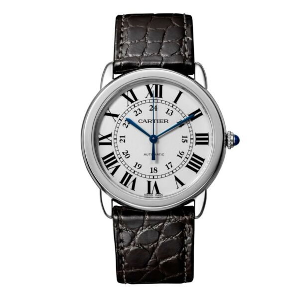 New Cartier Ronde Solo Stainless Steel Automatic 36 mm Medium Watch WSRN0013