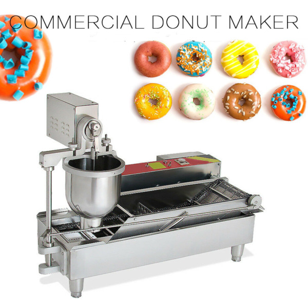 USA Commercial Automatic Donut Fryer Donut Maker Making Machine 6KW 110V