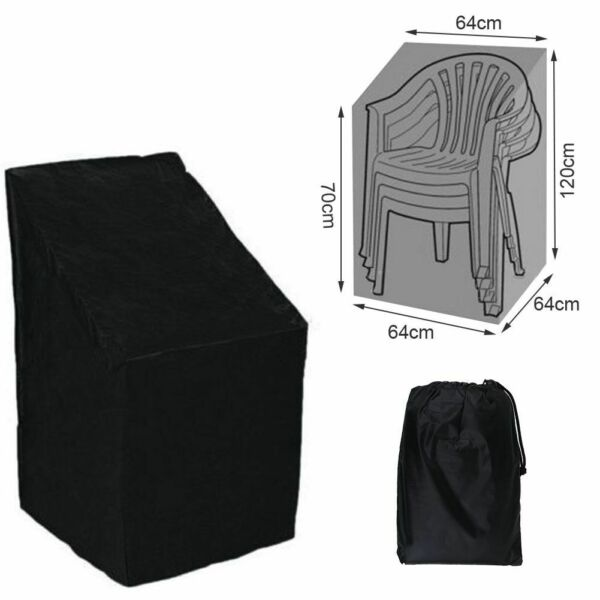 New Waterproof Durable Outdoor Patio Chair Cover Garden High Back Chair Case