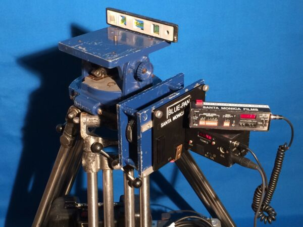 MITCHELL TRIPOD-HEAD TIME-LAPSE PANNING SYSTEM MOTORIZED ZEISS COOKE ARRI SONY