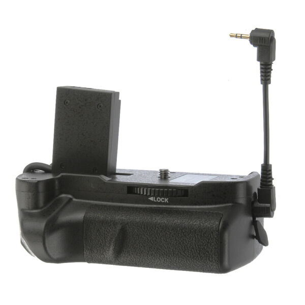Multi-POWER Vertical Battery Grip Pack For Canon EOS 200D Rebel SL2 Camera EOS
