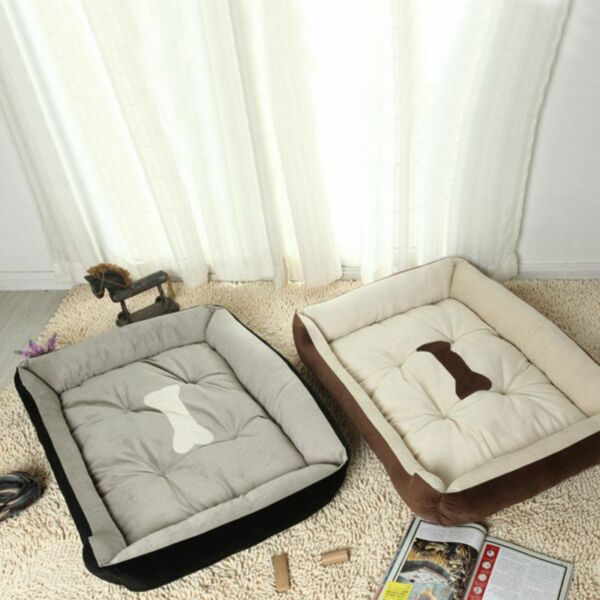 Pet Dog Bed Soft Warm Nest Kennel For Cat Warming Dog Sofa House Puppy Doggy $42.54