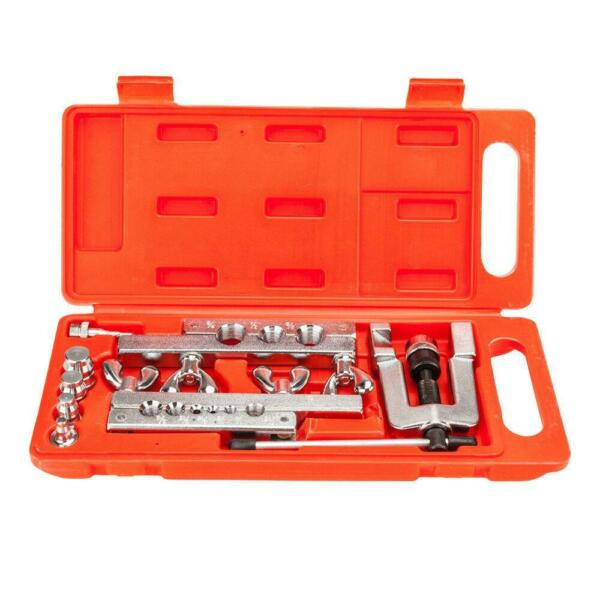 Flaring and Swaging Tool Kit Flares OD Soft Refrigeration Copper Tubing + Box