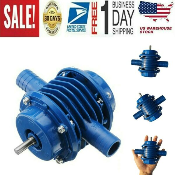 Auto-Priming Drill Electric Motor Ultra Centrifugal Micro Submersible Water Pump
