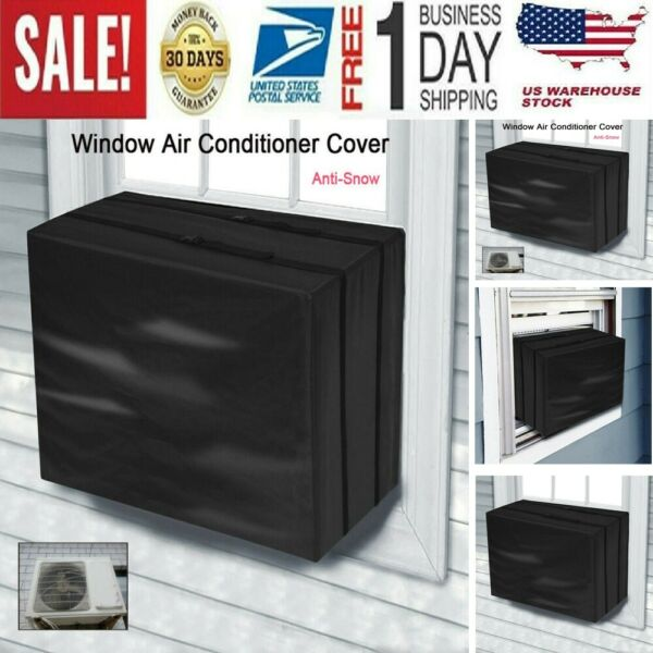 Window Air Conditioner Cover For Air Conditioner Outdoor Unit Anti-Snow