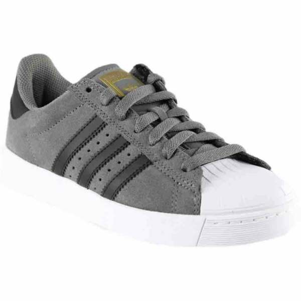 adidas SUPERSTAR VULC ADV  Casual Skate Stability Sneakers Grey - Mens - Size