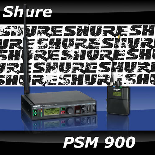 Shure PSM 900 PSM900 Personal Monitor System Wireless P9TRA+ G6 Frequency Band