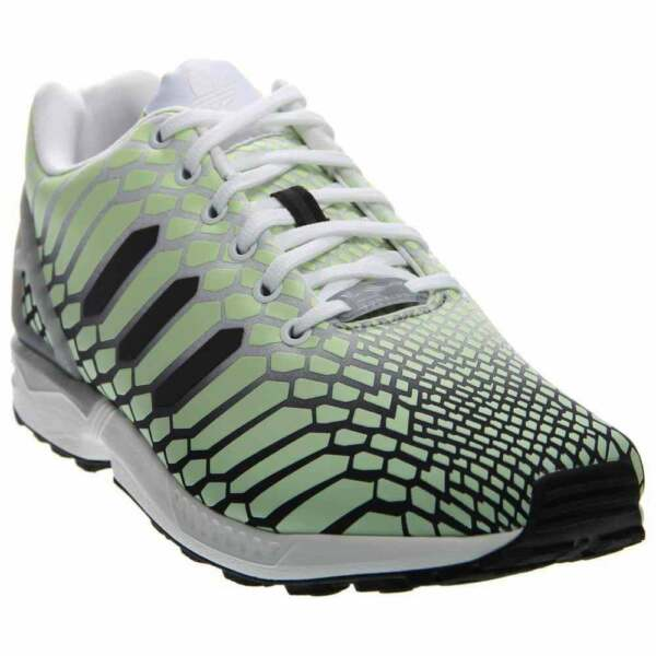 adidas ZX Flux Running Shoes - White - Mens