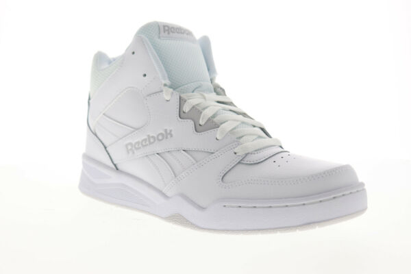 Reebok Royal BB4500 HI2 CN4107 Mens White Leather Casual High Top Sneakers Shoes