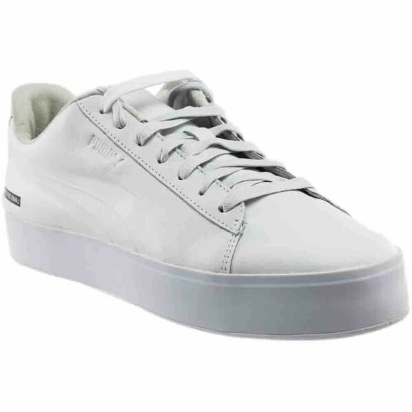 Puma Black Scale Court Platform Sneakers - White - Mens